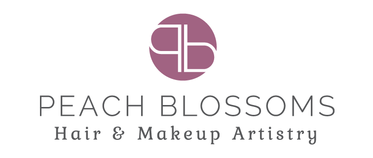 peach blossoms logo